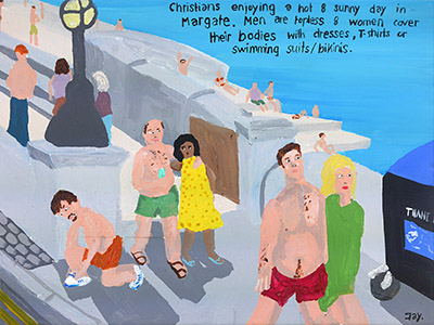 Bad Painting 60: Margate, the Parade