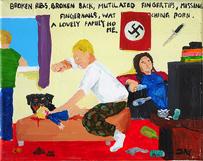 Bad Painting 21 by Jay Rechsteiner